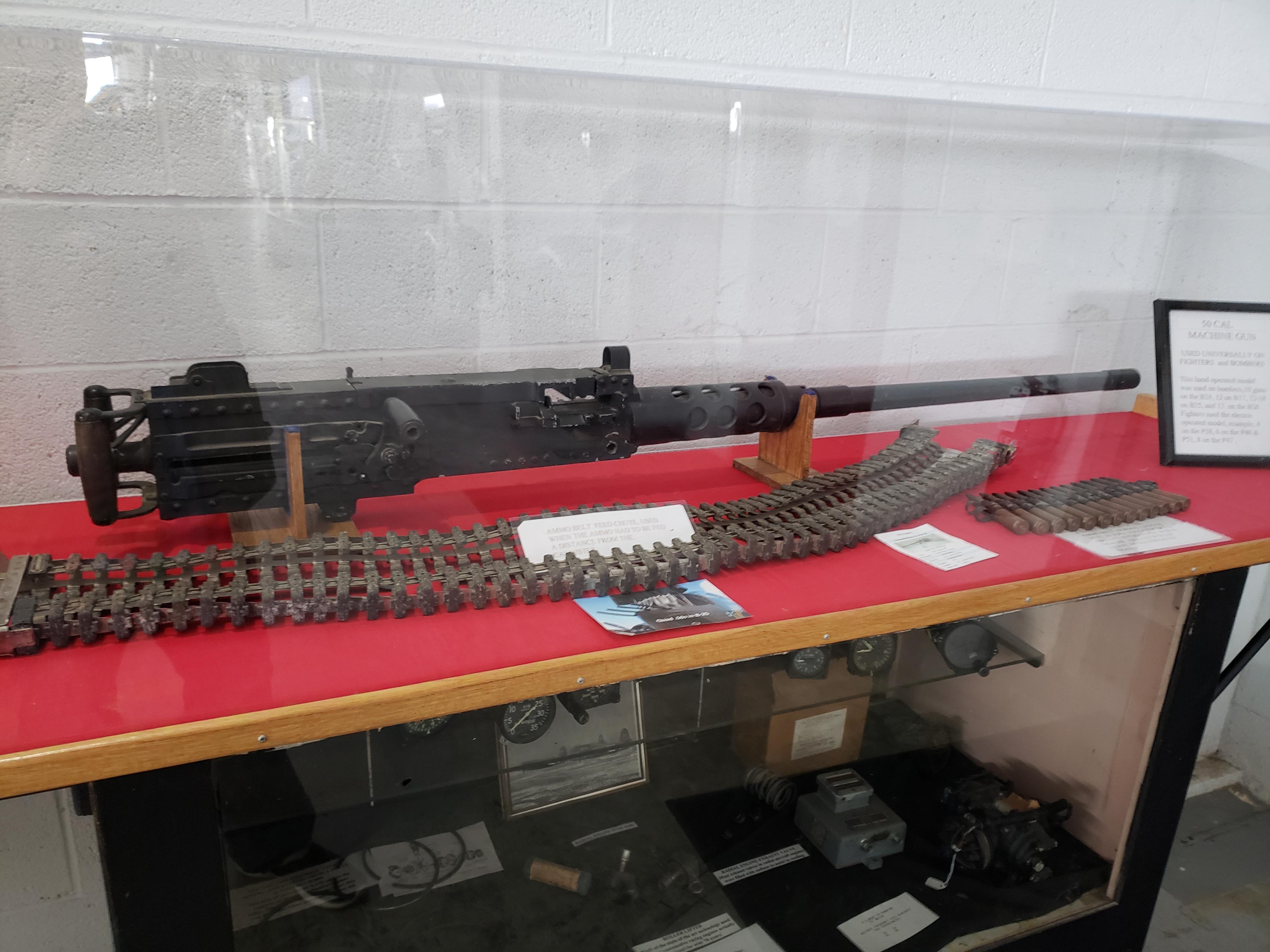 U.S. Browning M2HB Heavy Machine Gun