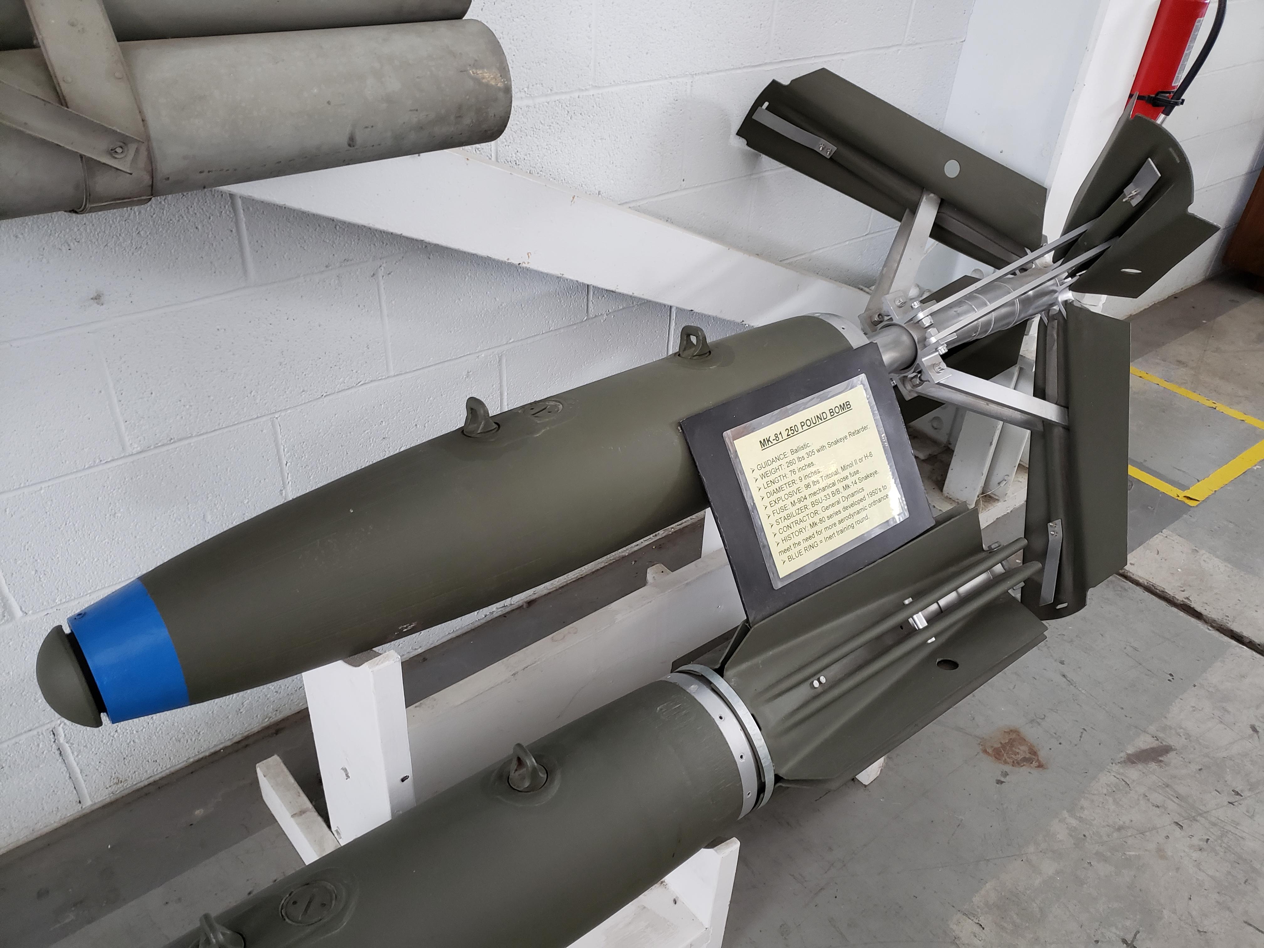 U.S. MK-81 250 lb. Bomb