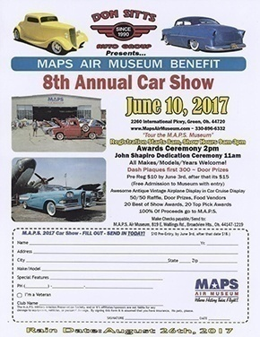 Don Sitts Th Annual Car Show MAPS Air Museum - Maps museum car show