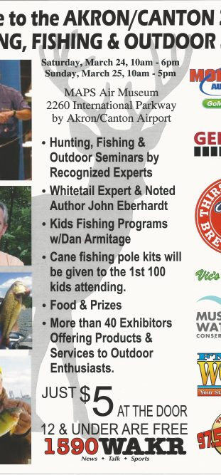 Upcoming events maps air museum for Hunting and fishing show