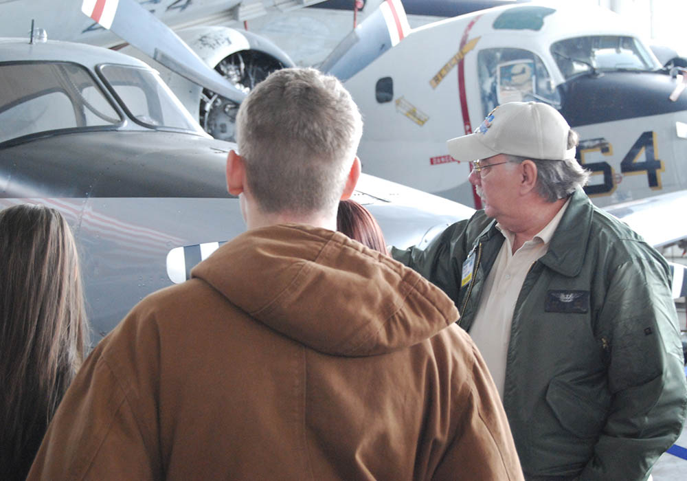 Instructing American History in the hangar
