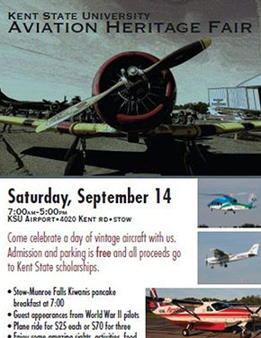 Kent State Aviation Heritage Fair MAPS Air Museum - Vintage aviation maps