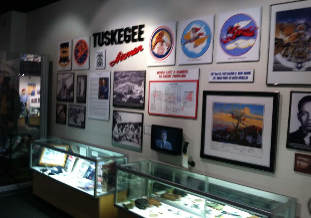 Tuskegee Airmen Display