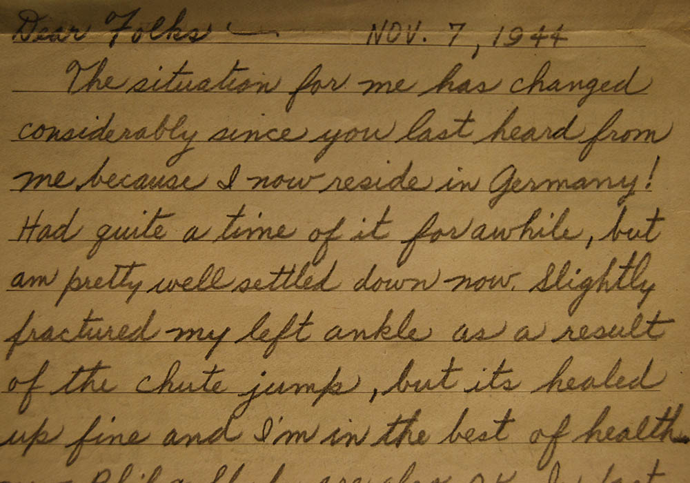 War Letter Home