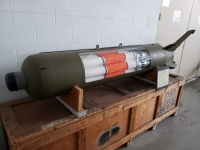 U.S. DAACM CBU-98/B 850 lb. Anti-Airfield Cluster Bomb