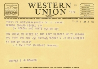 Sewell Stateside telegram